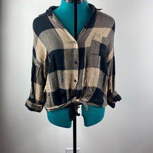 Thread & Bare Tie Flannel